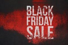 Testo di lerciume di vendita di Black Friday grande sull'insegna illustrazione vettoriale