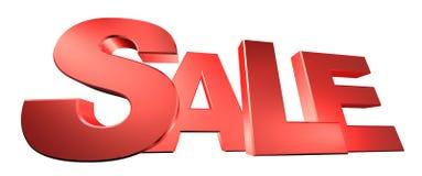 Testo di vendita Immagine Stock Libera da Diritti