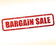 Testo di vendita speciale attenuato Fotografia Stock