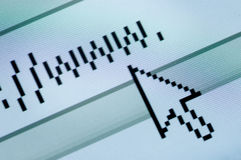 Testo di WWW Immagine Stock