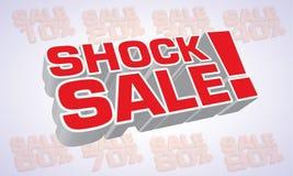 Testo duro di vendita Immagine Stock Libera da Diritti