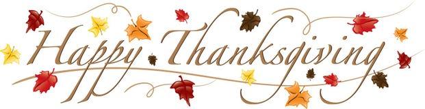 Testo felice di ringraziamento