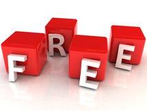 Testo libero 3D Immagini Stock Libere da Diritti