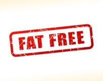 Testo senza grasso attenuato Immagine Stock