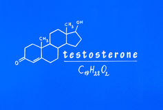 testostérone Photo stock