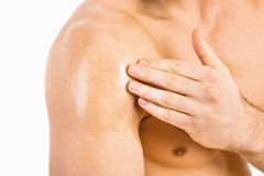 Testosteron-Ersatztherapie TRT Lizenzfreie Stockbilder
