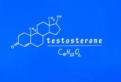 testosterona Foto de archivo