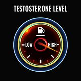 Testosterone deficiency concept Stock Photography
