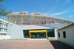 Testpunkt för stad Shenzhen för special ekonomisk zon nytt Arkivfoton