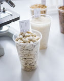 Tests for pesticides in cereal in at laboratory. No one Stock Images