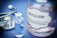 Tests for Research of Botulism Royalty Free Stock Photo
