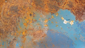 Testure arrugginito del metallo Fotografia Stock Libera da Diritti