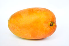 Testy Colorful Mango. On white Isolated background Royalty Free Stock Photos