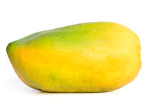 Testy Colorful Mango. On white Isolated background Stock Images