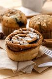 Testy Muffins and Cinnamon roll Stock Photo