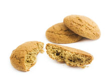 Testy oatmeal cookies Royalty Free Stock Photography