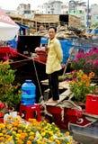 Tet kwiatu rynek Zdjęcia Stock