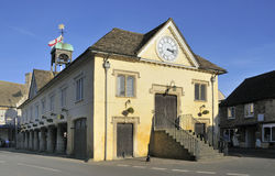 Tetbury Town Hall Royalty Free Stock Photography