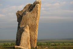 Teter skała, Greenwood okręg administracyjny Kansas obraz stock