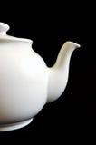 Tetera blanca Imagen de archivo