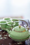 Tetera china - imagen común Imagen de archivo libre de regalías