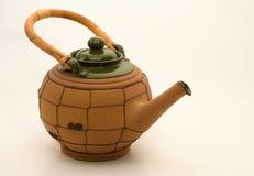 Tetera de cerámica Fotografía de archivo