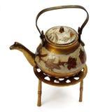 Tetera de oriental de la vendimia Imagen de archivo