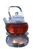 Tetera de té herbario Imagenes de archivo