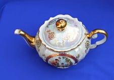 Tetera hermosa de la porcelana de la colección Fotografía de archivo