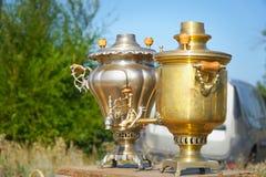 Tetera nacional tradicional para el té fotografía de archivo libre de regalías