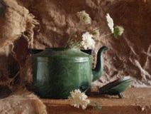 Tetera vieja - un cuadro. Fotos de archivo libres de regalías