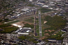 Teterboro Airport royalty free stock photography