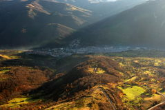 Teteven-Stadt, Bulgarien Lizenzfreie Stockfotos