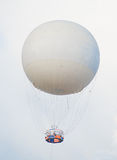 Tethered aerostat balloon. Royalty Free Stock Photography