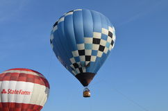 Tethered Balloon Ride Stock Photo