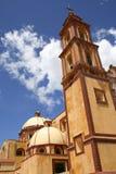 Tetla Atipa Church. Principal church of the town known as Tetla Atipa in Tlaxcala, mexico Royalty Free Stock Image