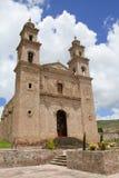 Tetla Atipa convent. Ancient convent located in Tetla Atipa Tlaxcala, mexico Royalty Free Stock Image