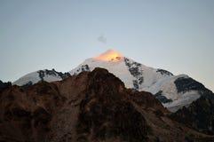 Tetnuldi Mountain, Caucasian Mountains, Svaneti. stock photos