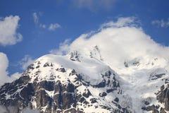 Tetnuldi mount, the view from Chkhuntieri pass. Georgia Stock Image