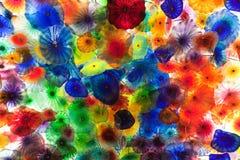 Teto colorido e incandescendo Foto de Stock
