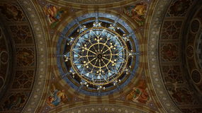 Teto da igreja Fotografia de Stock