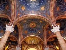 Teto da igreja de todas as nações, Jerusalém imagem de stock