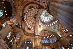 Teto da mesquita azul Imagens de Stock Royalty Free