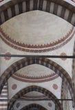 Teto da mesquita azul Istambul, Turquia fotografia de stock
