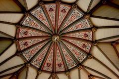 Teto de catedral de Durham fotografia de stock royalty free