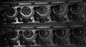 Teto de catedral de Monreale Imagem de Stock