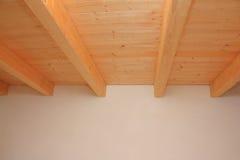 Teto de madeira Fotografia de Stock