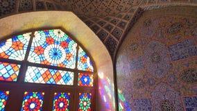 Teto de Nasir Al-Mulk Mosque filme