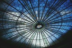 Teto de vidro Imagem de Stock