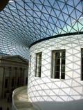 Teto de vidro, British Museum Fotos de Stock Royalty Free